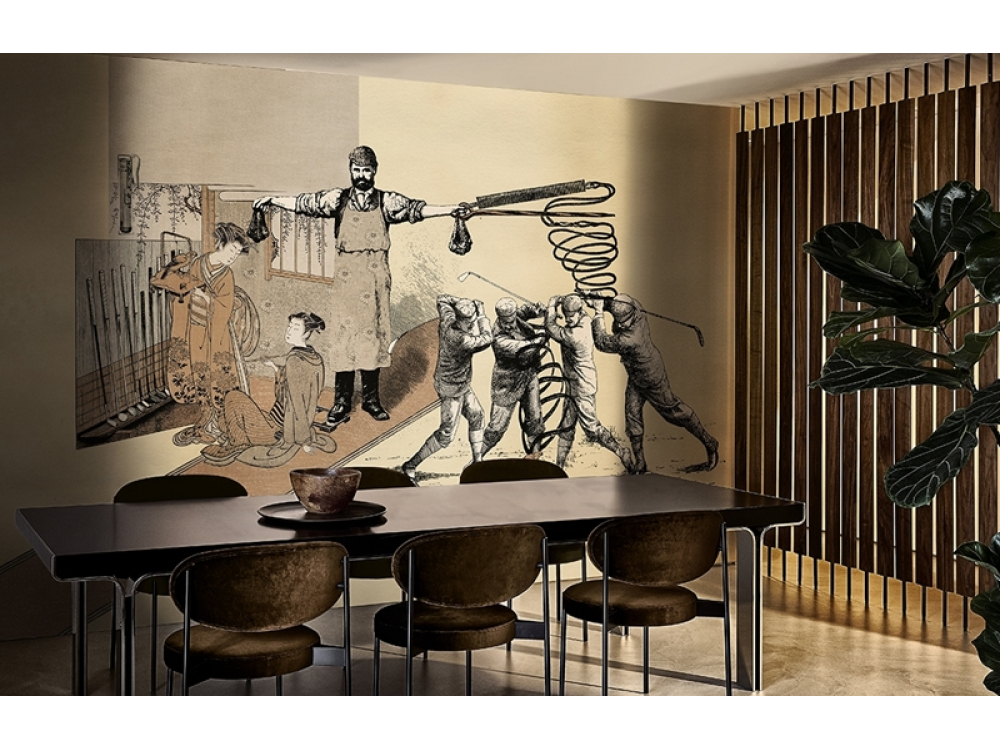 WALL&DECO CONTEMPORARY WALLPAPER 2019 GOLFING WDGO1902