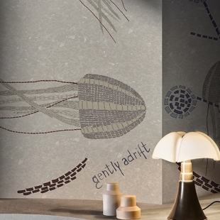 WALL&DECO CONTEMPORARY WALLPAPER 2019 GENTLY ADRIFT WDGA1901