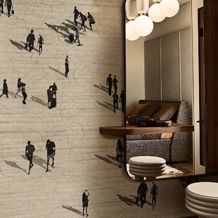 WALL&DECO CONTEMPORARY WALLPAPER 2019 LA CITTA' FLUIDA WDCF1901