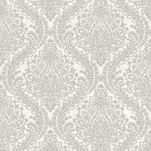 Tapeta ornament damask Mixed Metals MR643711