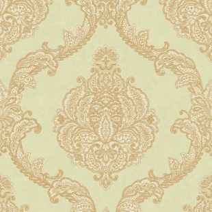 Tapeta ornament damask Mixed Metals WP-1151