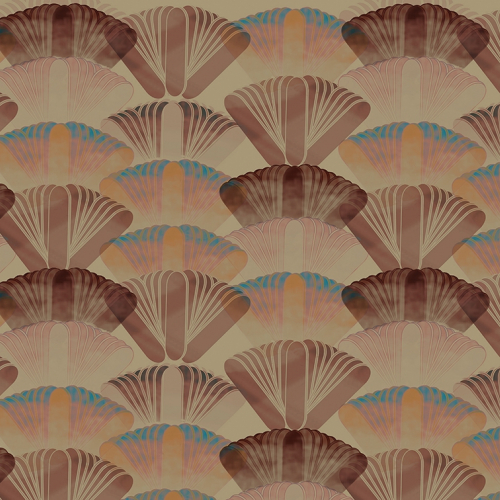 WALL&DECO CONTEMPORARY WALLPAPER 2018 FOSSIL WDFS1802